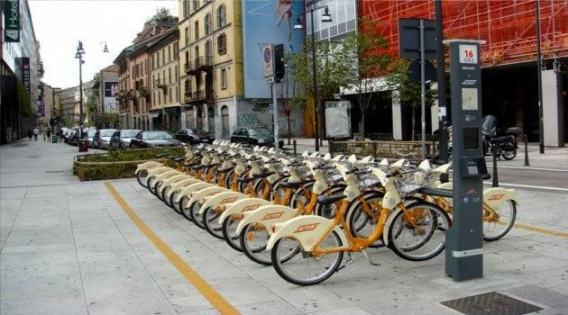 BikeMi in Milan