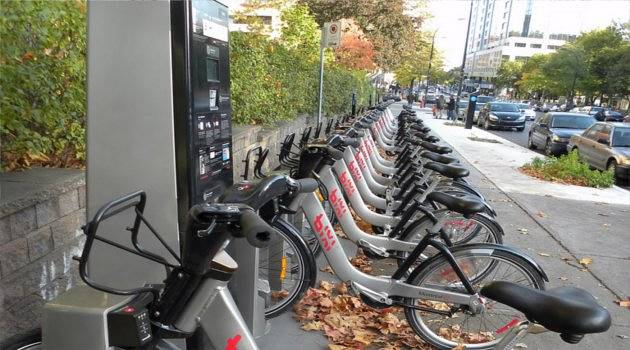 Bixi Bikes in Montreal