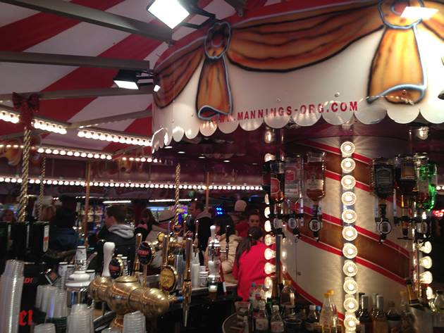 Carousel Bar - Hyde Park Winter Wonderland