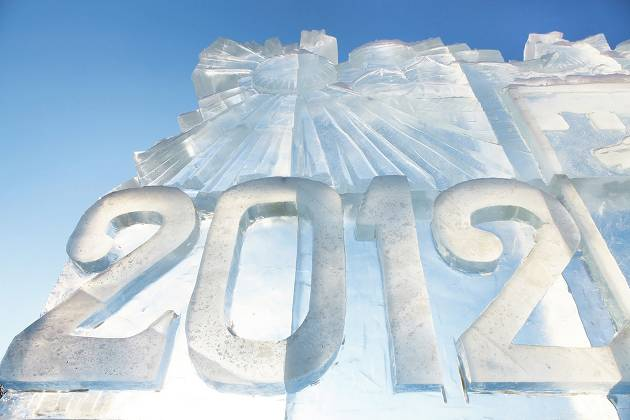 Snow Sculpture 2012