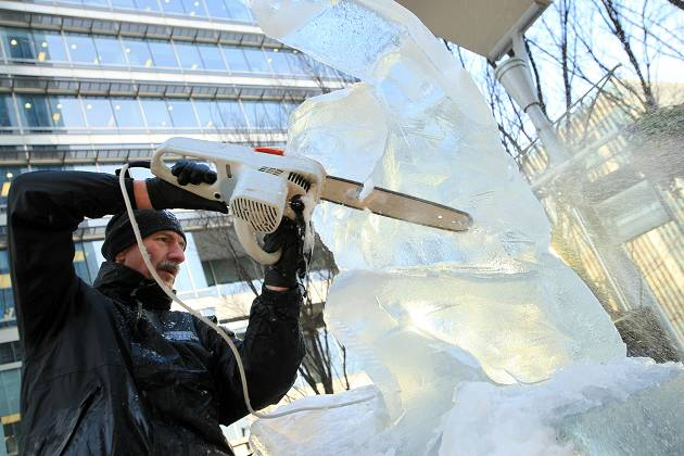London Ice Sculpture Festival