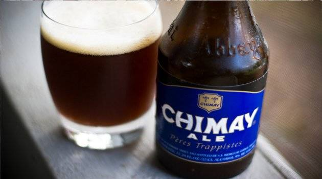 Chimay Beer by Trapist Monks
