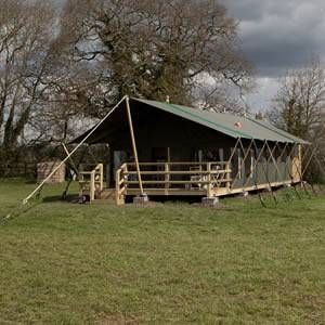 Rain Doesn't Stop Play – Glamping in Wiltshire