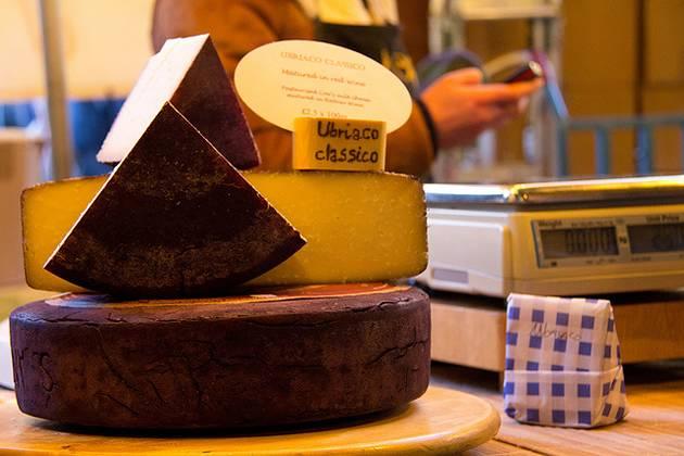 Cheese at Borough Market, London