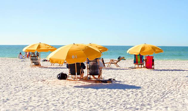 Holidays for a president - Clearwater in Florida