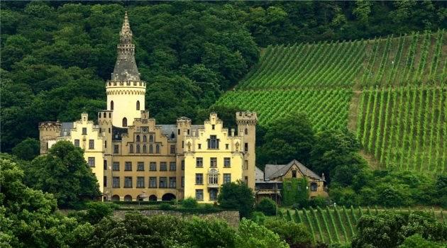Calendar Castle, Rhine Cruise
