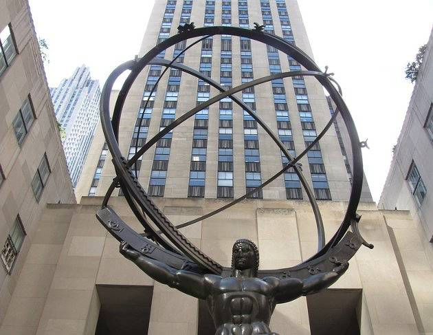 Atlas and 30 Rockefeller