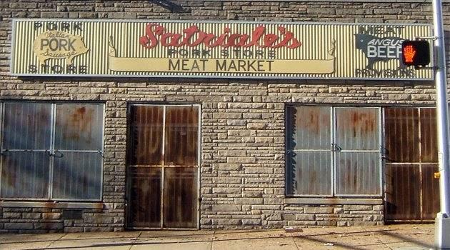 Famous meat shop