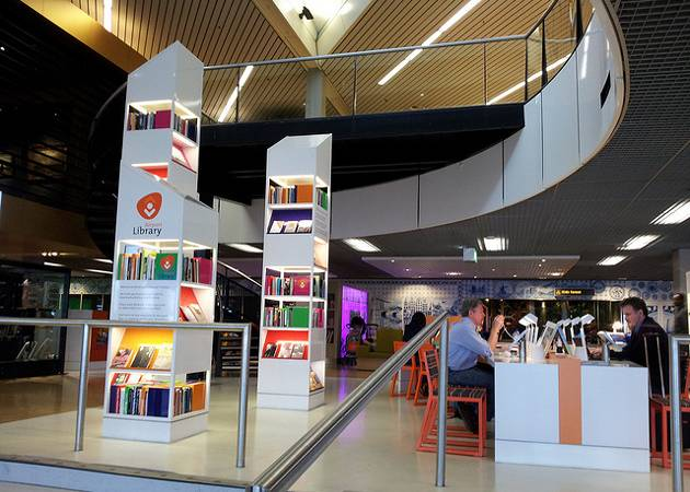 Amsterdam Schiphol Airport Library