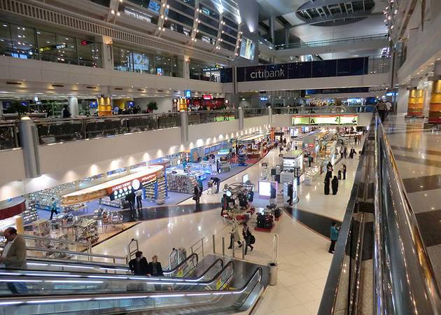 Dubai International Airport shops