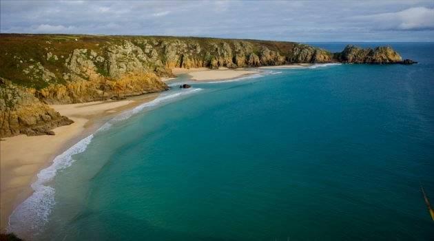 The beautiful Cornish coast