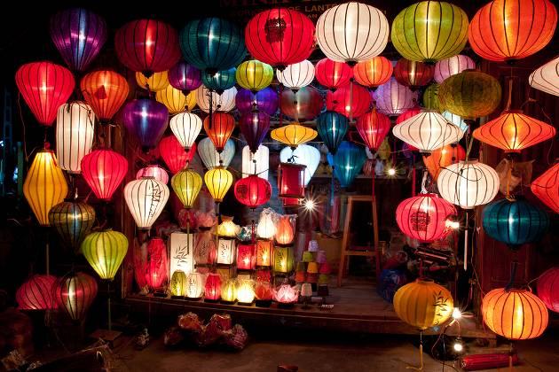 Night market, Hoi An, Vietnam