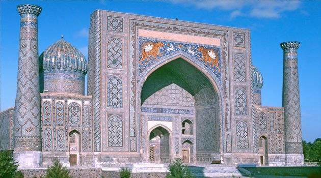 Islamic-inspired architecture in Uzbekistan