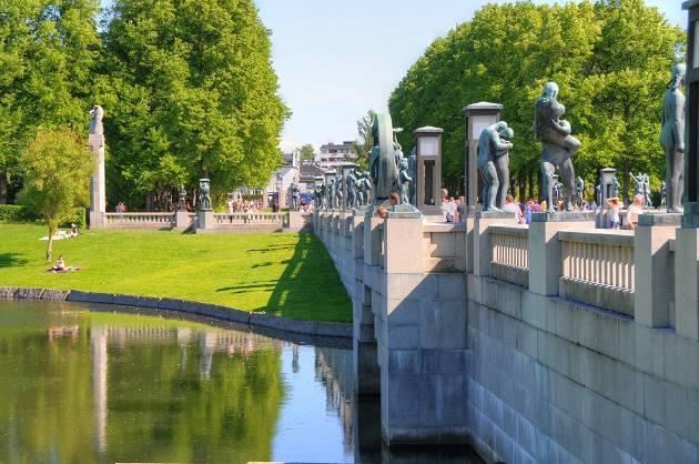 Vigelands Sculpture Park, Oslo