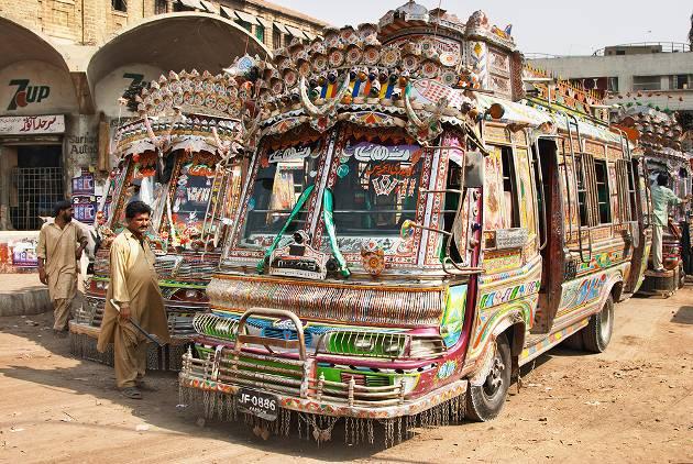 Bus in Pakistan