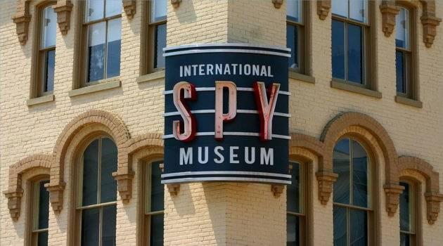 Spy Museum Sign