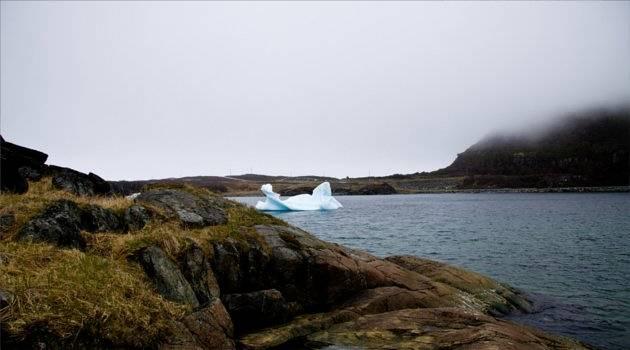 lone iceberg