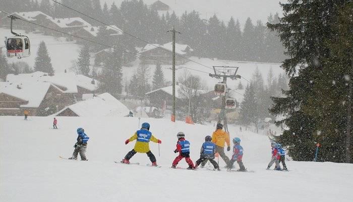 kids' ski school