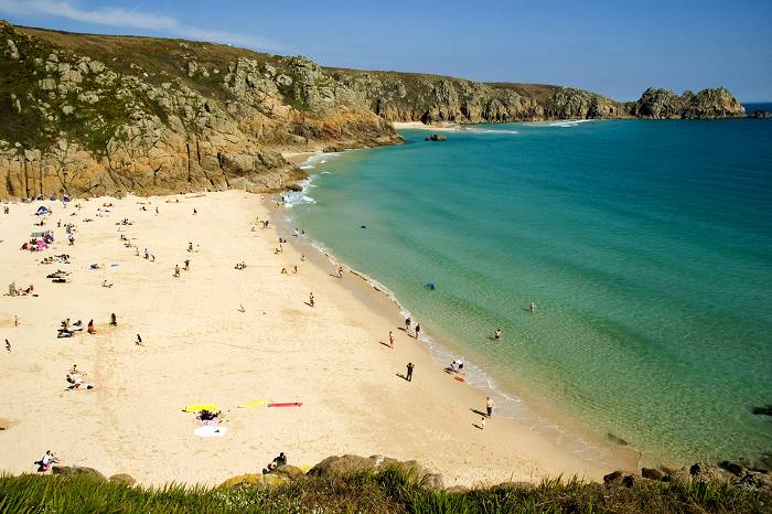 Cornwall beach