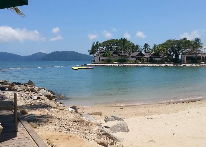 Beach in Borneo