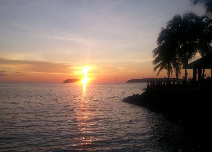 Sunset in Borneo
